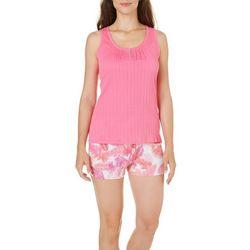 IAppeal Womens Palm Tank & Short Pajama Set