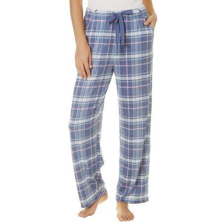 Jaclyn Intimates Womens Plaid Print Pajama Pants