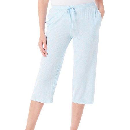 New! Jaclyn Intimates Womens Diamond Pajama Capris