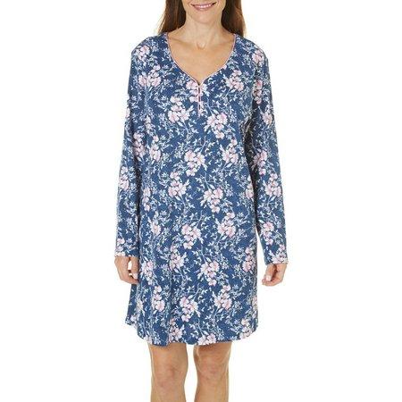 Karen Neuburger Womens Flora & Fauna Nightgown
