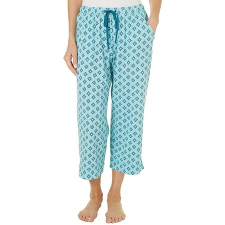 Karen Neuburger Womens Geometric Pajama Pants