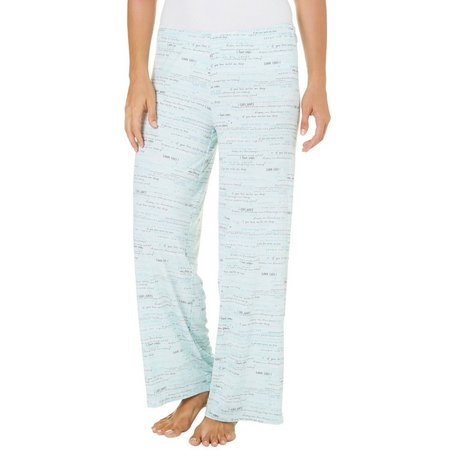 Hue Womens Goodnight Message Pajama Pants