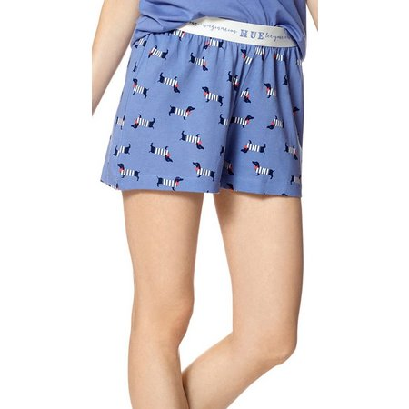 Hue Womens Pooch Run Pajama Boxer Shorts