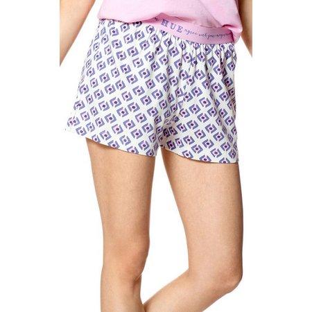 Hue Womens Geometric Pajama Boxer Shorts