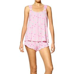 Hue Womens Cactus Pajama Set