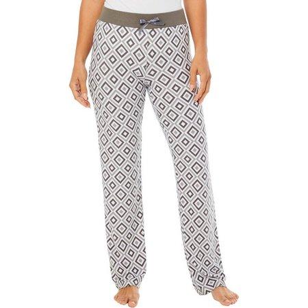 Elegant Emily Juniors Geometric Pajama Pants