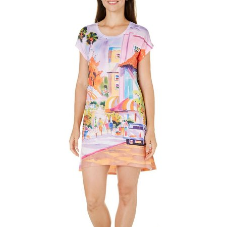 Ellen Negley Womens St. Armands Style Nightgown
