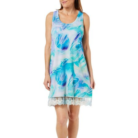 Dawn Davis Womens Heal The Earth Tank Nightgown