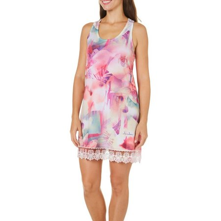 Dawn Davis Womens Tropical Rain Nightgown