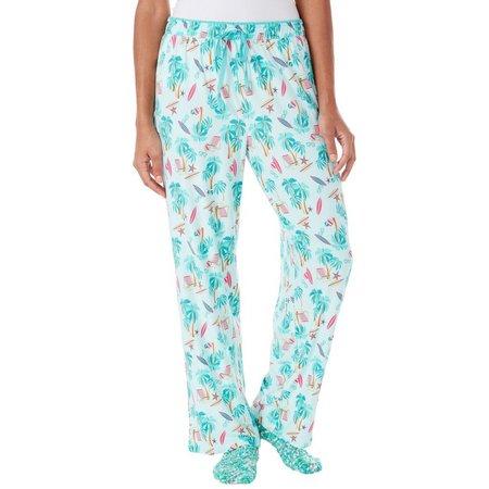 Goodnight Kiss Womens Socks & Palm Pajama Pants