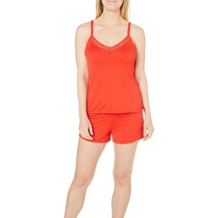 Jones New York Womens Pajama Shorts Set