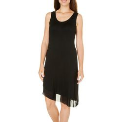New! Jones New York Womens Mesh Tank Nightgown