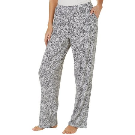 COOL GIRL Womens Cheetah Print Pajama Pants
