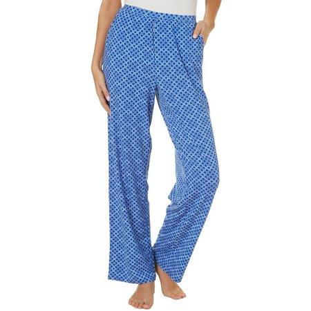 COOL GIRL Womens Tiles Print Pajama Pants