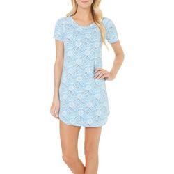 COOL GIRL Womens Mosaic Print Nightgown