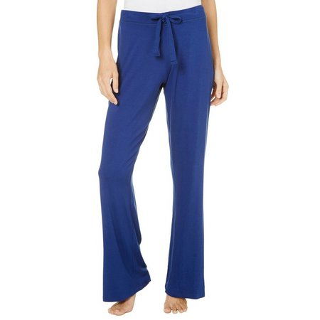 Lissome Womens Solid Pajama Pants