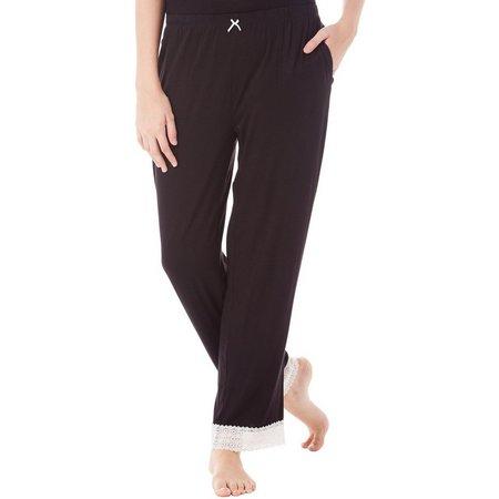 Maddie & Coco Juniors Lace Trim Pajama Pants