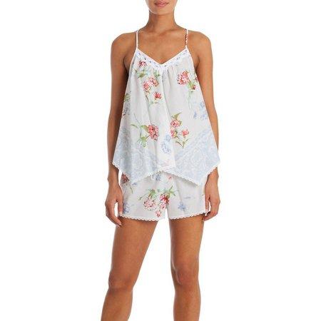 Linea Donatella Womens Pajama Boxer Shorts Set