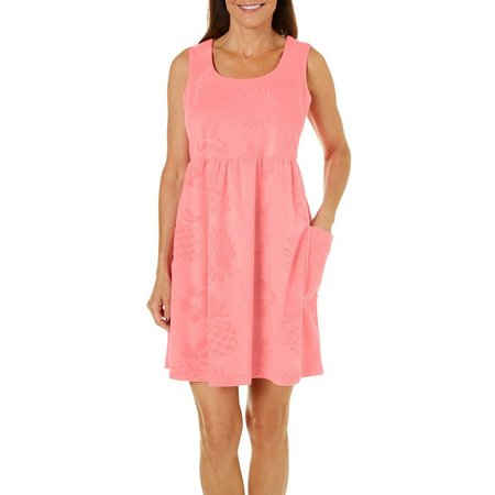 Coral Bay Womens Tropical Leisure Dress
