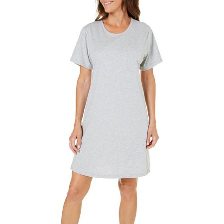 Coral Bay Womens Heather Swing Leisure Dress