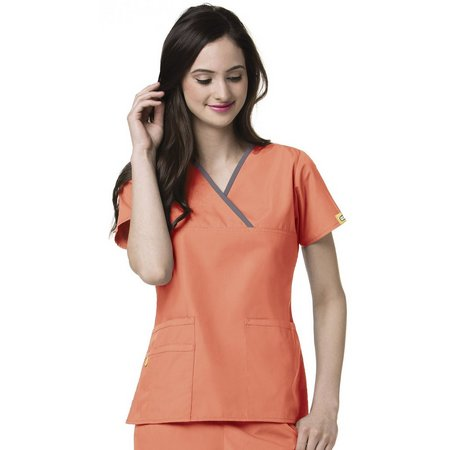 WonderWink Womens Charlie Scrub Top