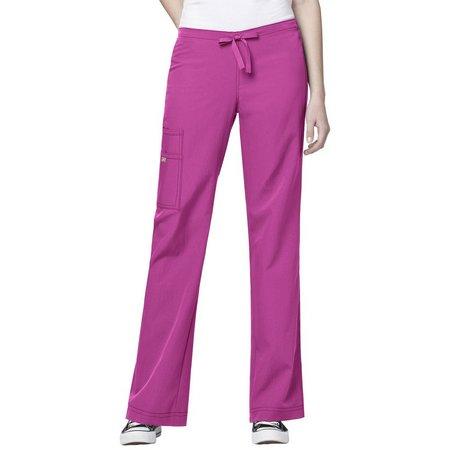 WonderWink Womens 4-Stretch Cargo Scrub Pants