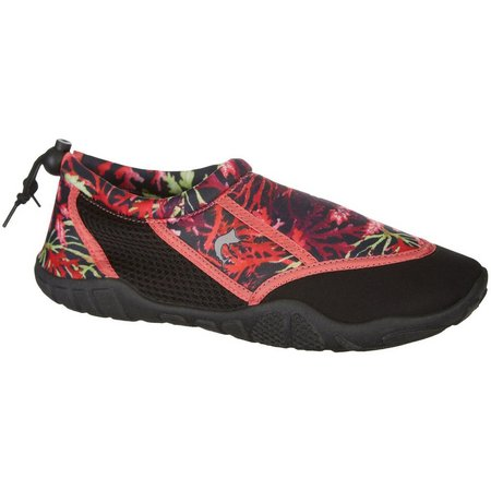 Reel Legends Womens Oceania Coral Water Shoes