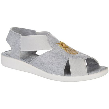 Maggie Womens Pineapple Maggie Sandals