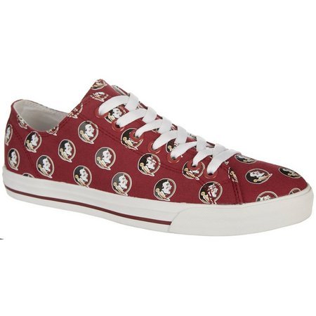 Florida State Unisex Canvas Shoes By Row One