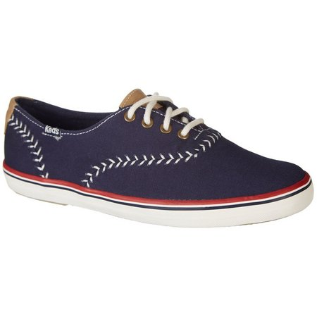 Keds Womens Champion Pennant Navy Blue Shoes