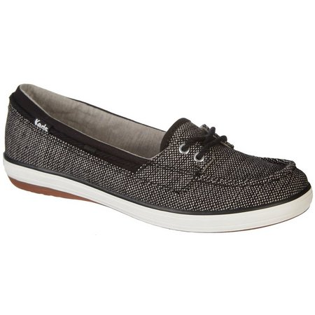 Keds Womens Glimmer Slip On Boat Shoes