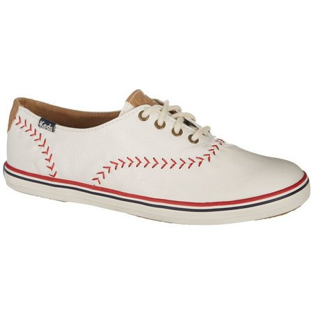 Keds Womens Champion Pennant Leather Shoes