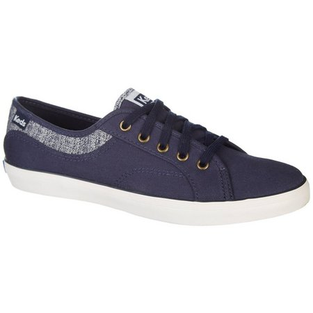 Keds Womens Coursa Knit Inset Canvas Shoes