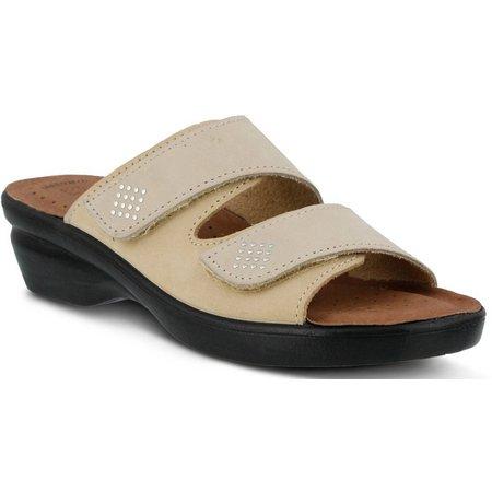 Spring Step Womens Flexus Aditi Wedge Sandals