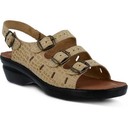 Spring Step Womens Adriana Sling Back Sandals