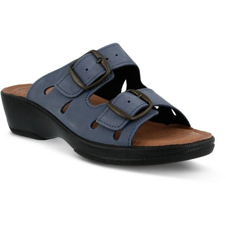 Spring Step Womens Flexus Decca Two-Strap Sandals
