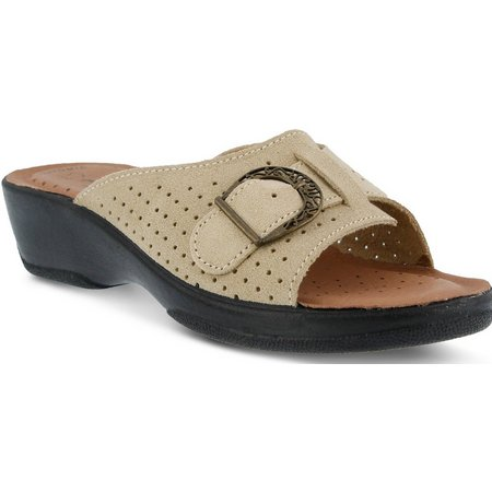 Flexus Womens Edella Slide Sandals