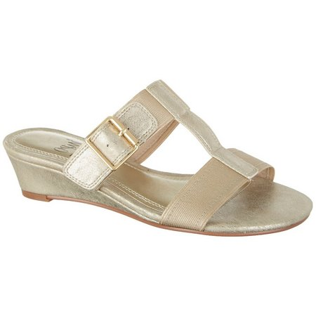 IMPO Womens Rosalie Solid Dress Sandals
