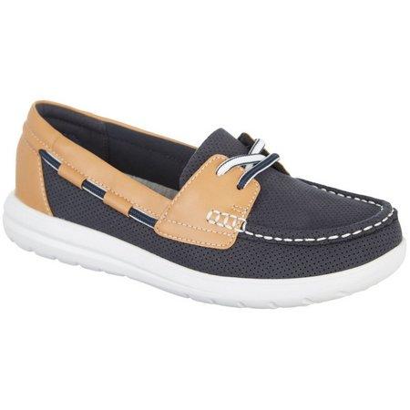Clarks Cloudstepper Womens Jocolin Vista Boat Shoes