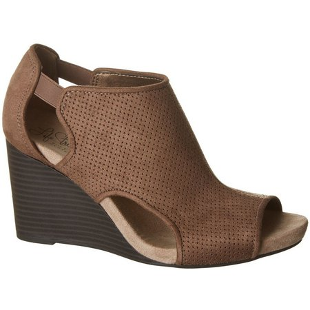 LifeStride Womens Hinx Wedge Sandals