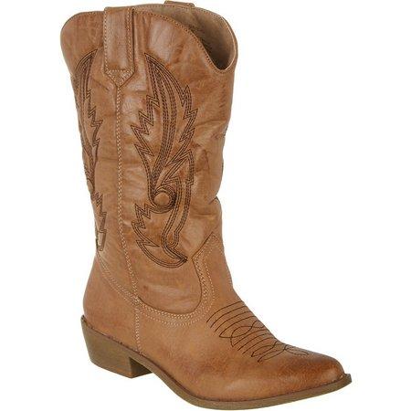 Coconuts Womens Gaucho Cowboy Boots