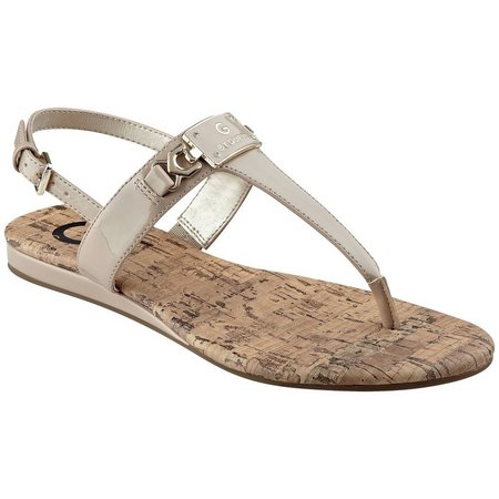 G by Guess Womens Jemma Thong Sandals