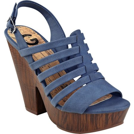 G by Guess Womens Seany Heels