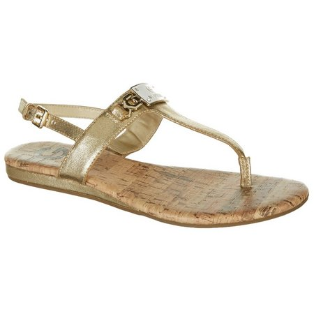 G by Guess Womens Jemma 2 Thong Sandals
