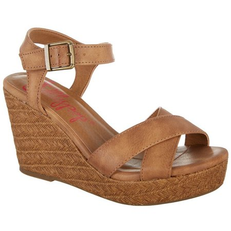 Jellypop Womens Memphis Wedge Sandals