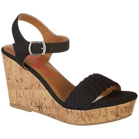 Jellypop Womens Mozart Wedge Sandals
