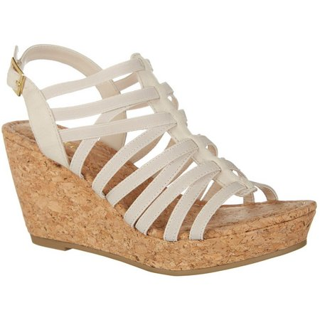 Rampage Womens Josie Wedge Sandals