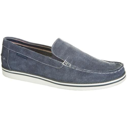 IZOD Damiano Loafer - MEN - BLUE FABRIC