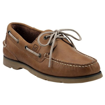 Men's Leeward Boat Shoe Linen 9.5 M