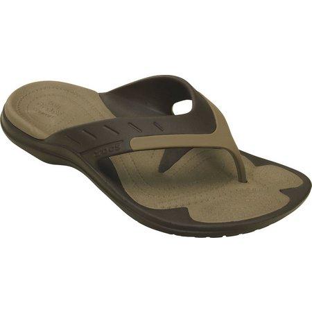 Crocs Mens Modi Sport Flip Flops